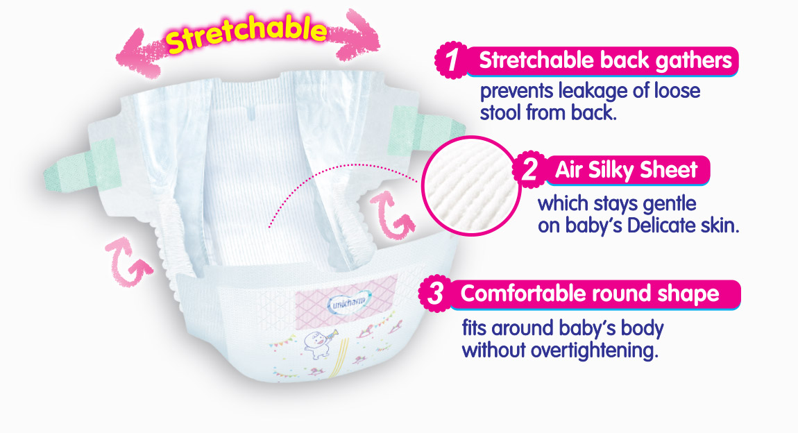 stretchable-diaper