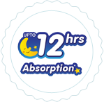 Up to 12 Hours of Absorption