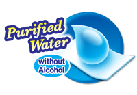 Purified Water without Alcohol