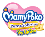 MamyPoko Pure & Soft wipes PopUp Box