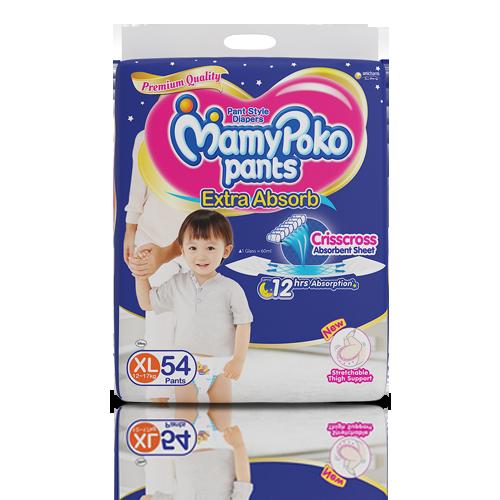 MamyPoko Pants Extra Absorb Crisscross (XL) 12-17Kg