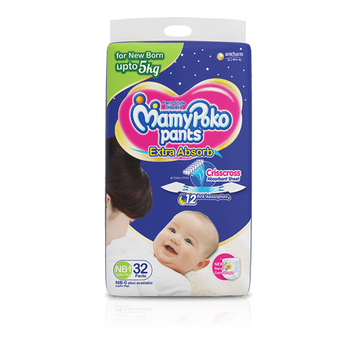 MamyPoko Pants New Born
