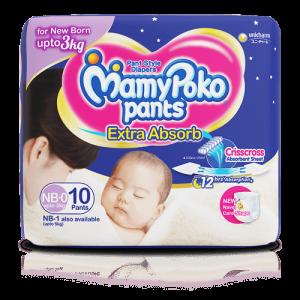MamyPoko Pants Newborn-0 3-5Kg