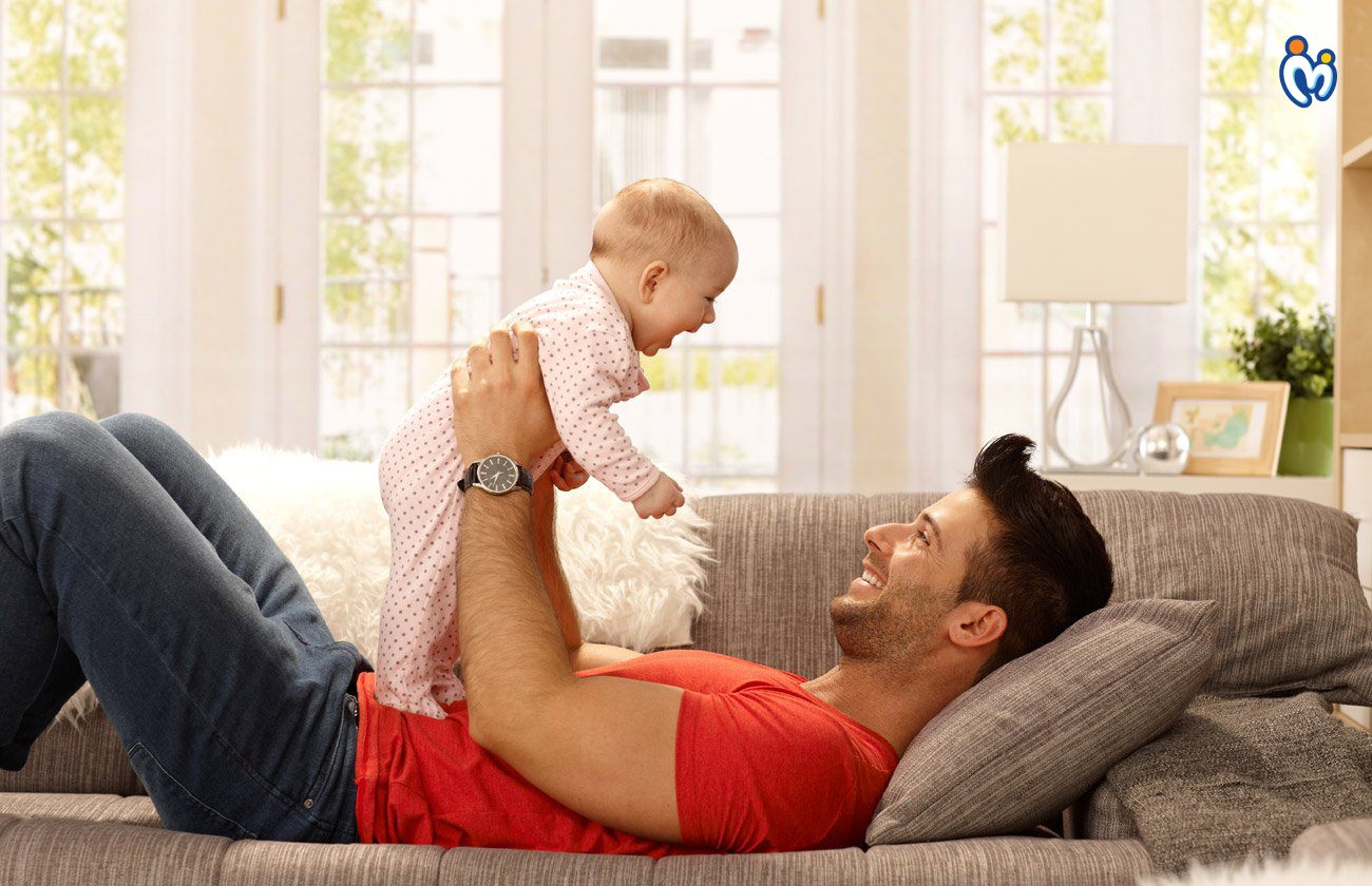 5 Ways Dad can Bond with a New Born Baby