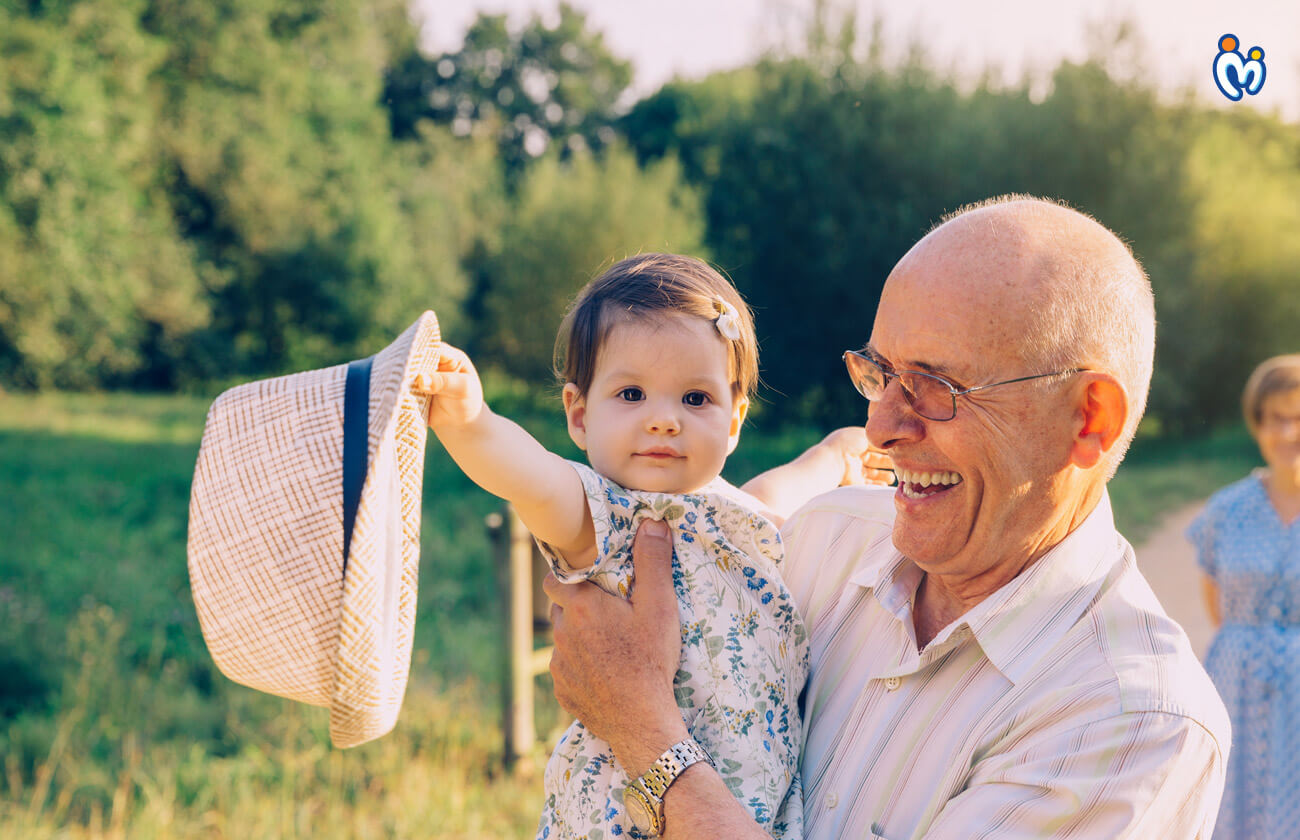 How can toddlers bond with their Grandparent?