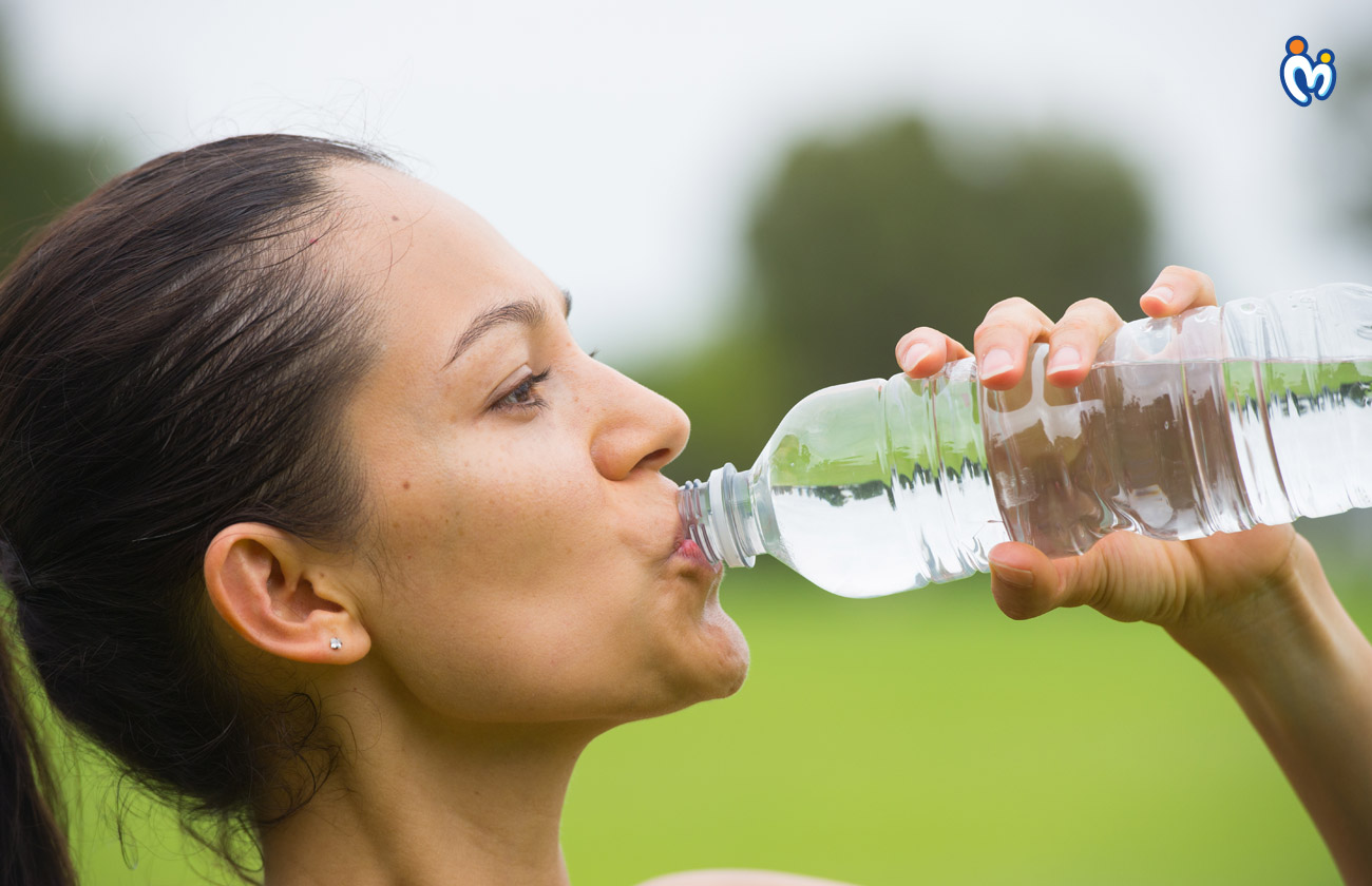 Drinking enough water will ensure that your skin stays supple, soft and hydrated