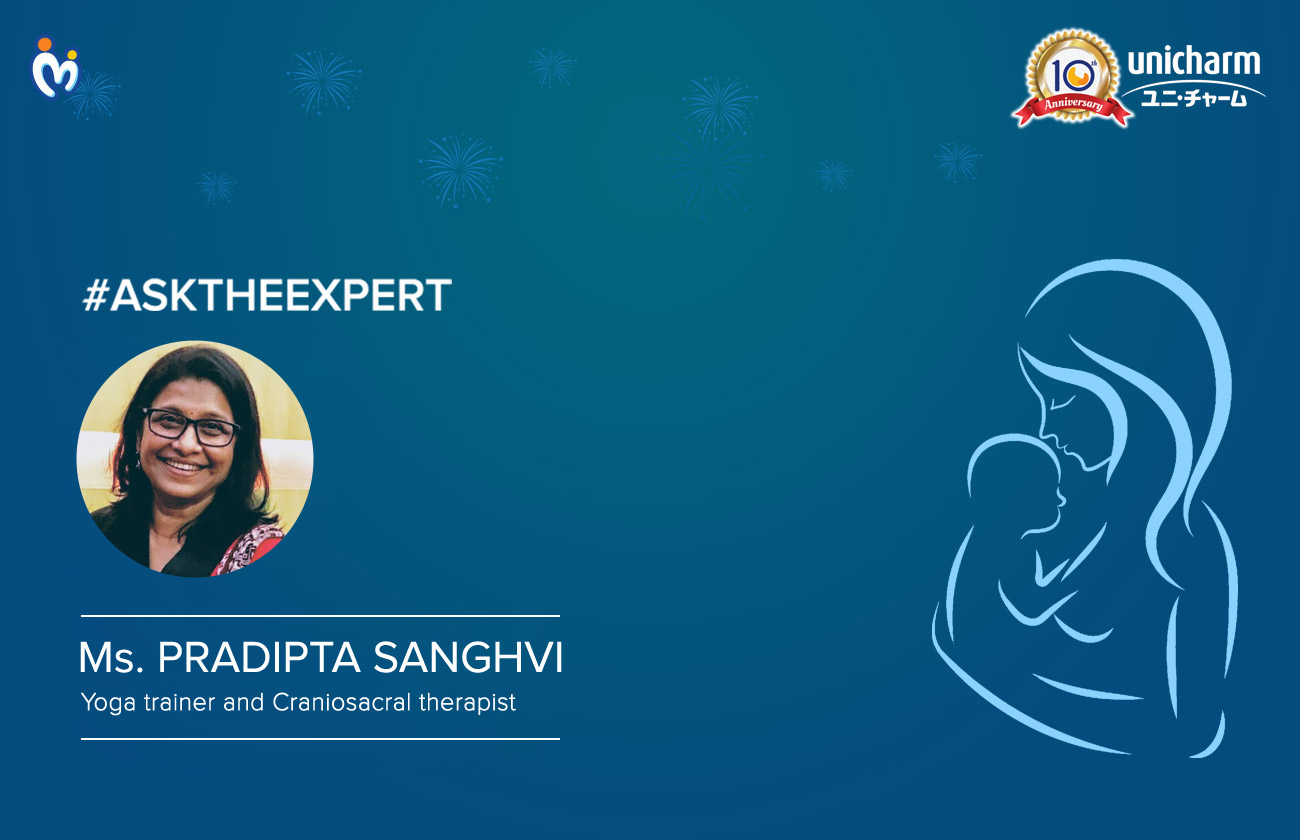 AskTheExpert-Ms-Pradipta-Sanghvi- Yoga trainer and craniosacral therapist