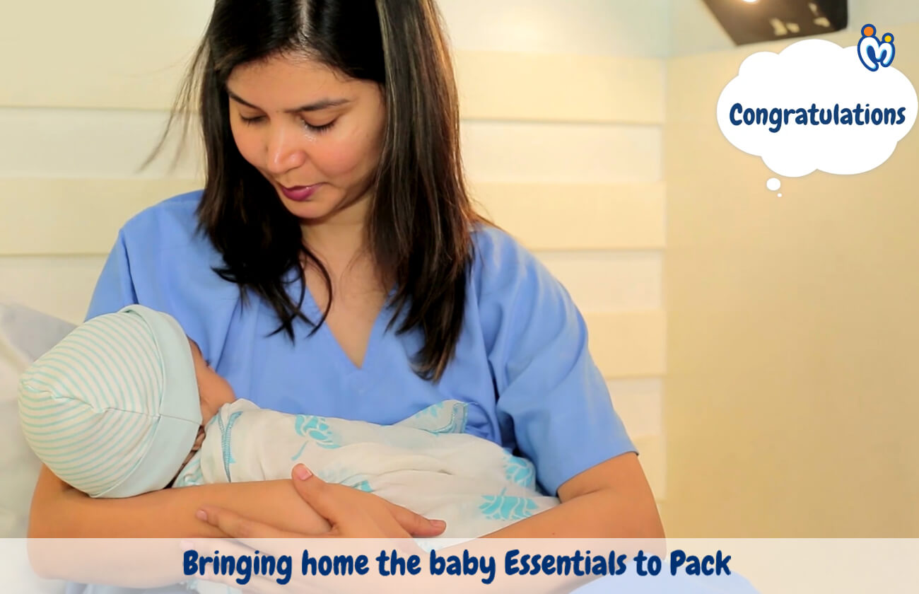 Bringing home the baby – Essentials to Pack!