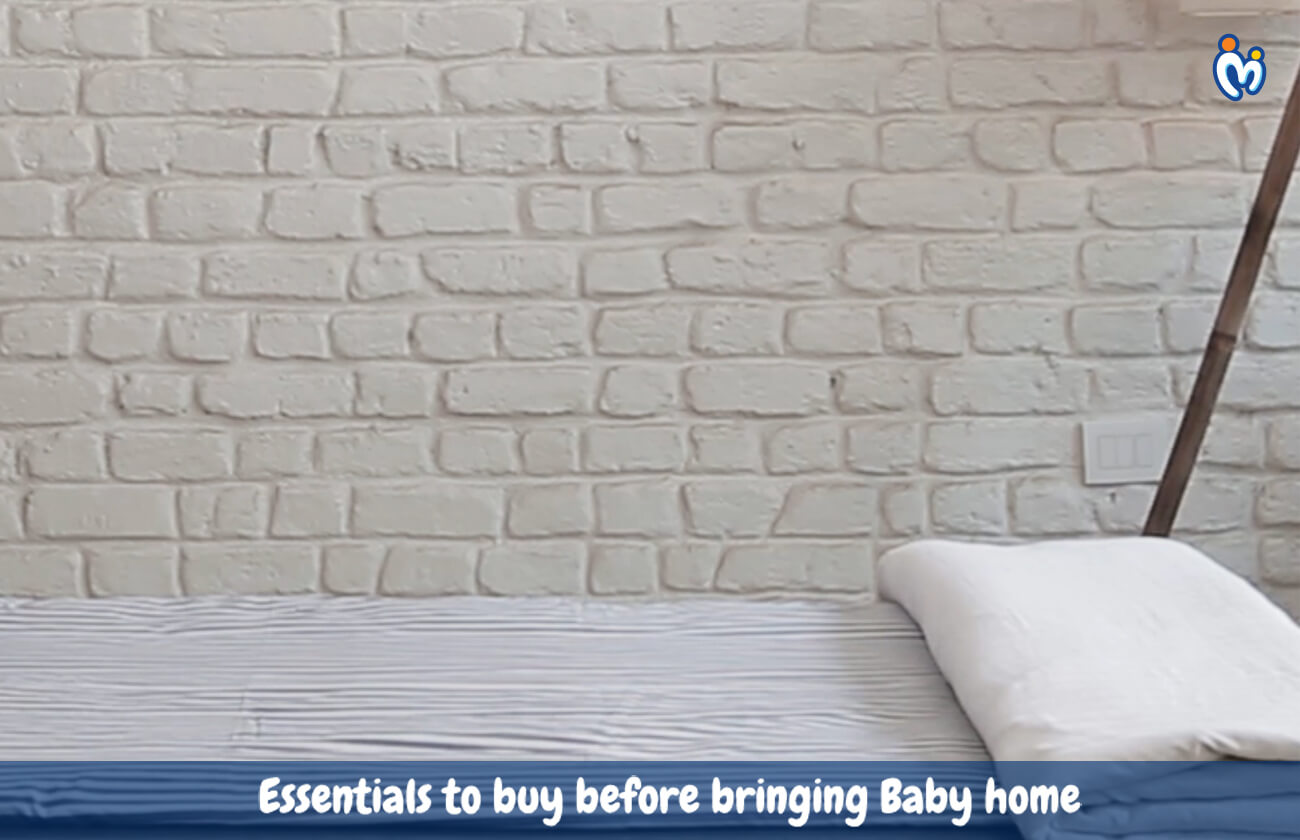 Essentials to buy before bringing Baby home