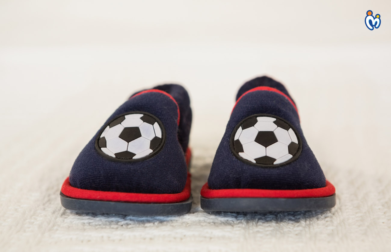 Soft Fabric Crib Shoes