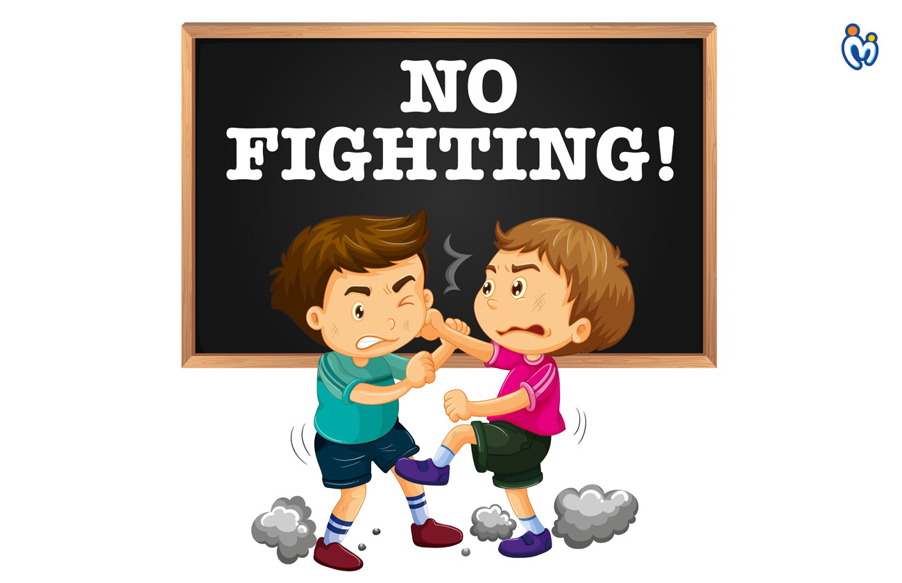 Fighting with one another/serious arguments