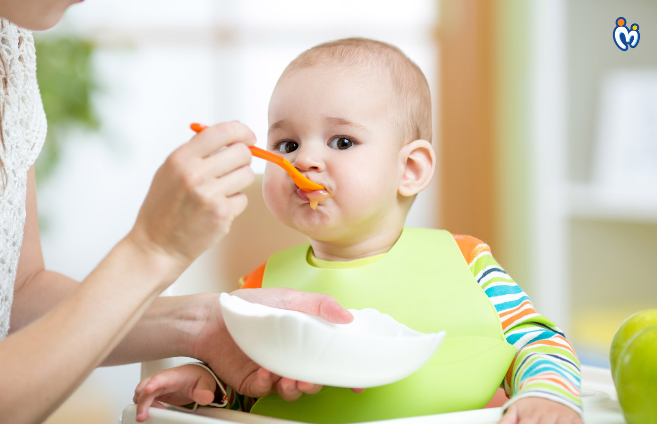 Nutrients important for the growing baby