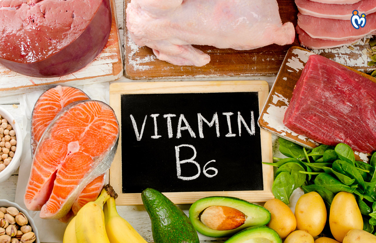 Vitamin B6 is required during pregnancy