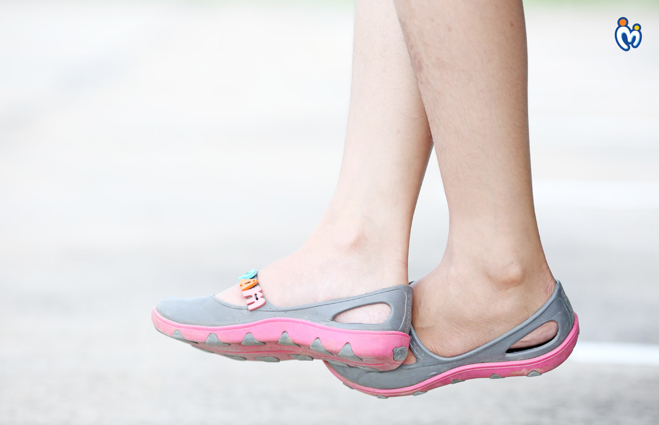 Water-Resistant Rubber Sandals