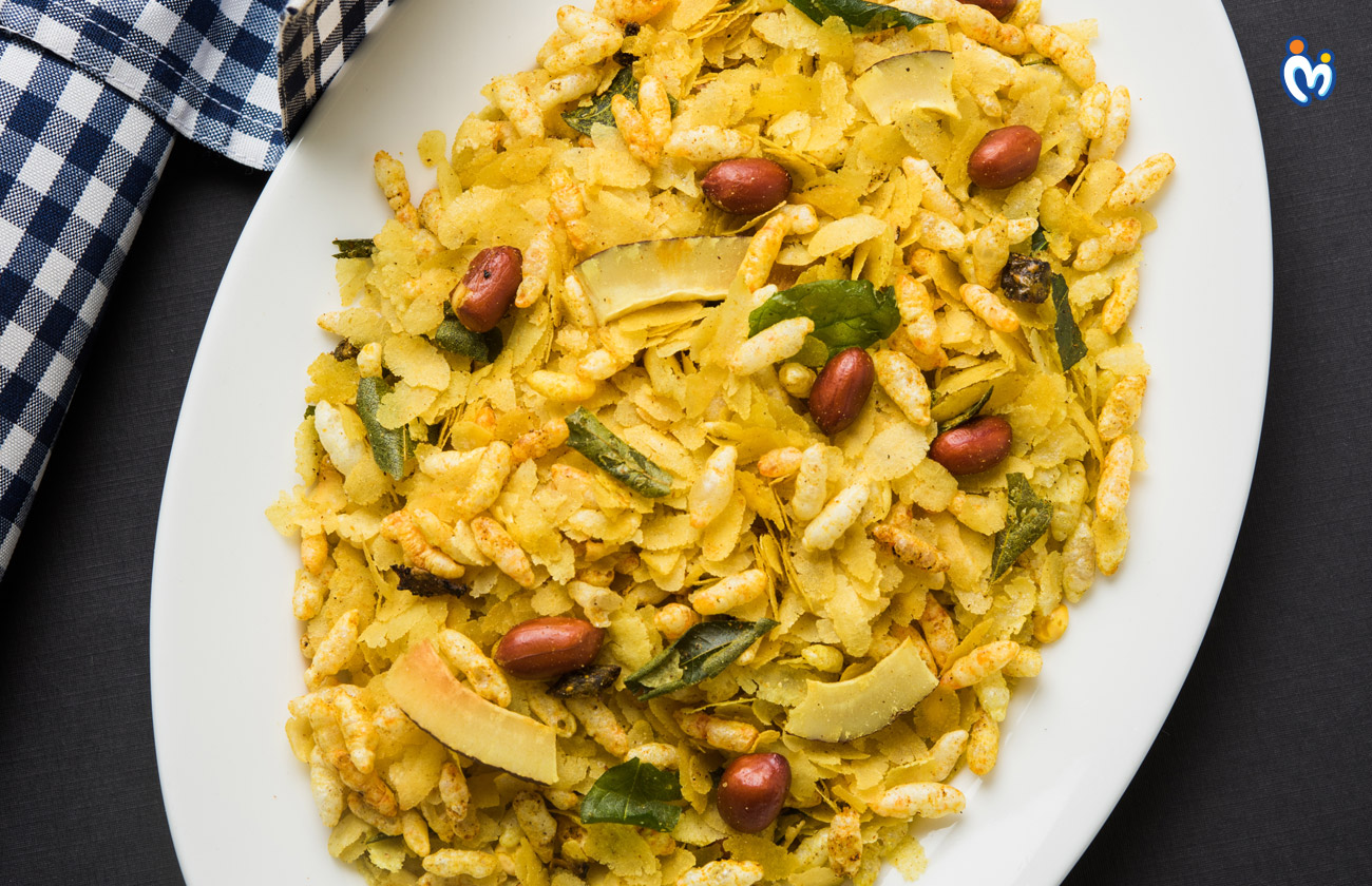 Poha healthy snack for pregnant women