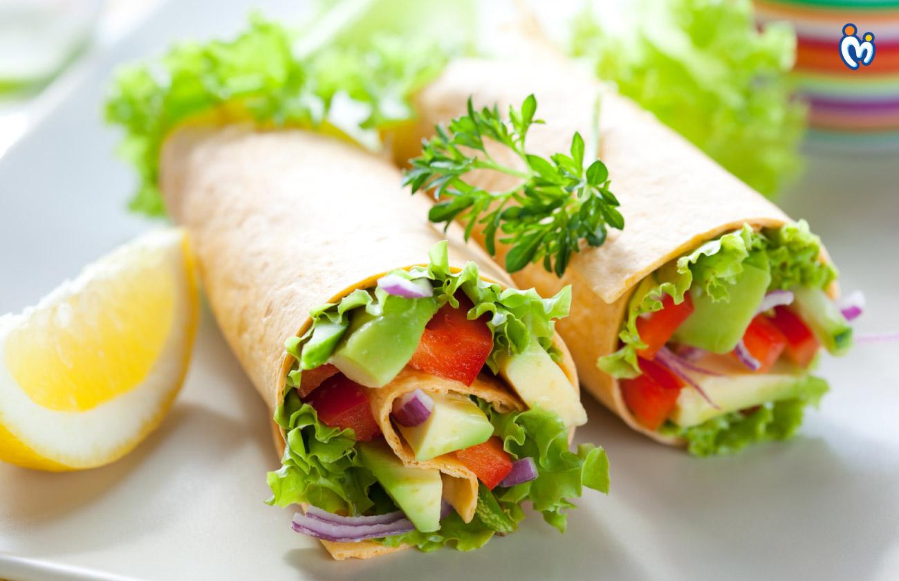 Veggie Bread Rolls